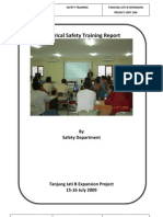 Electrical Safety Training Report