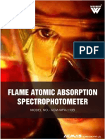 Flame Atomic Absorption Spectrophotometer WFX-110B