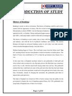 Banking System At HDFC Bank