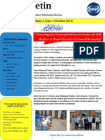 LIS Bulletin - Volume 3, Issue 4 (October 2013)