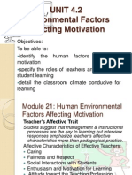 Facilitating Learning Environmental Factors Slides