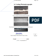 Ceramic Coating Photomicrographs