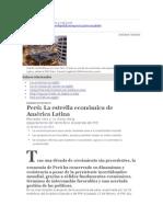 FMI - Perú La estrella económica de América Latina
