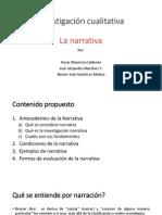 presentación de la Narrativa