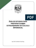 Preparar Examen Extraordinario Calculo Diferencial