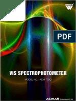 VIS Spectrophotometer 723G