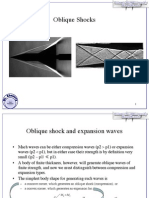 Oblique Shock Waves