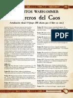 m1780285a Guerreros Del Caos 1'4 Mayo CM 2011