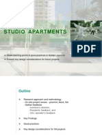 Good Practices for Studio Apartments