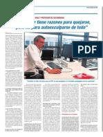 Entrevista Periódico Escuela 10-10-2013