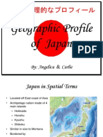 Geographic Profile of  Japan