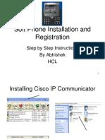 SoftPhone Installation and Registration