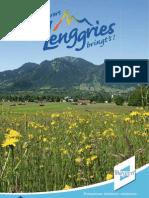 Gastgeberverzeichnis Lenggries 2009
