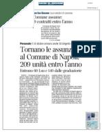 Rassegna Stampa 11.10.2013