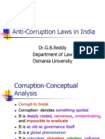 Anti-Corruption Laws in India