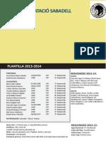 Cn Sabadell 2013-2014