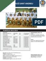 Cn Sant Andreu 2013-2014