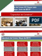 Calendario+ICIC+Mayo Juniol+2013