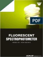 Fluorescent Spectrophotometer