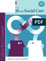 health and social care key concepts