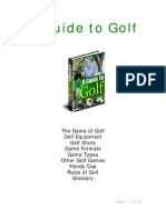 Guide to Golf