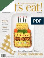 Vol-49 let's eat! Magazine