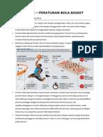 Peratutran - Peraturan Bola Basket