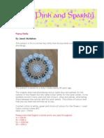 Pansy Doily Pattern