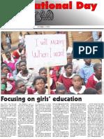 INTERNATIONAL DAY FOR GIRL CHILD