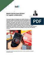 Mobile internet impact on retail