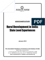 Rural Development in India State Level Exp-2012