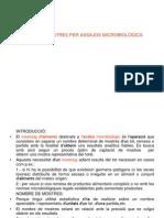 a5.Presa de Mostres Per Assajos Microbiologics