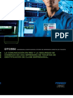 DTC550Brochure Spanish REV0508