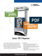 Encore 700 S Fuel Dispenser Brochure