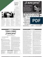 Versión impresa del periódico El mexiquense  11 octubre 2013