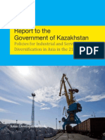 Report to the Government of Kazakhstan