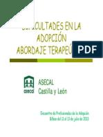 Abordaje  Terapeútico de las dificultades de adaptación en la ad opcion [Modo de compatibilidad]