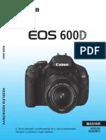 Canon EOS 600D Instruction Manual HU