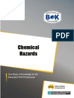 Chemical Hazards at workplace