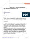 Scalable and robust HTTP session management with WebSphere eXtreme Scale