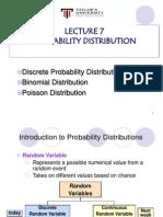 TU QM -L7 Discrete Probability_updated