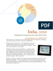 India Mission Travelogue