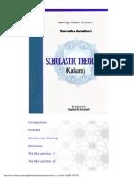 Kalam Scholastic Theology MMutahhari