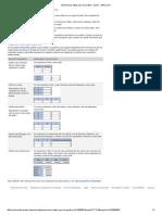 Seleccionar datos para un gráfico - Excel - Office