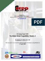 CW-232 No-Bake Iron Capability StudySec