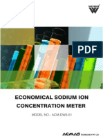 Economical Sodium Ion Concentration Meter