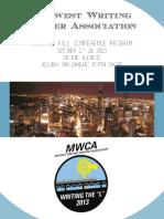 MWCA 2013 Program