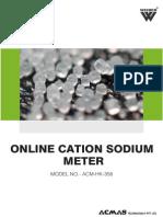 Online Cation Sodium Meter