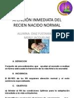 ATENCIÓN DEL RECIEN NACIDO NORMAL exposicion