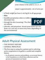 Health Assessment of Fluids & Electrolytes Part 1